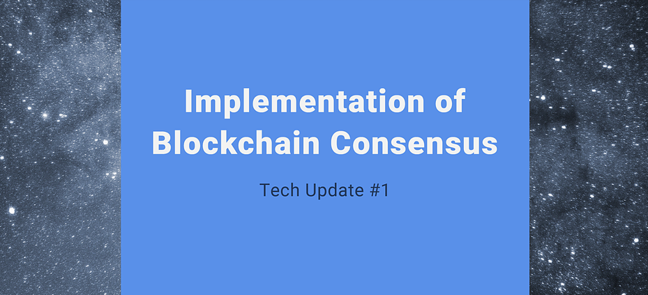 ScyNet tech update #1: The blockchain consensus