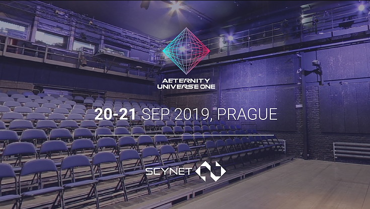 ScyNet will present at Æternity Universe One conference